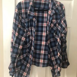 Torrid plaid shirt
